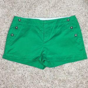 Banana Republic Martin Fit Green Short Size 12